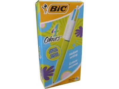 BIRO BIC 4 COLOURS FASHION P/MEDIA -12 pz  887777