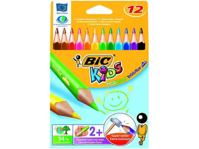 PASTELLI BIC EVOLUTION JUMBO TRIANGLE -12pz 829735