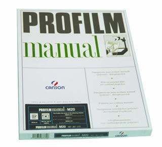 ACETATI PROFILM MANUAL A4 -100pz 987-370
