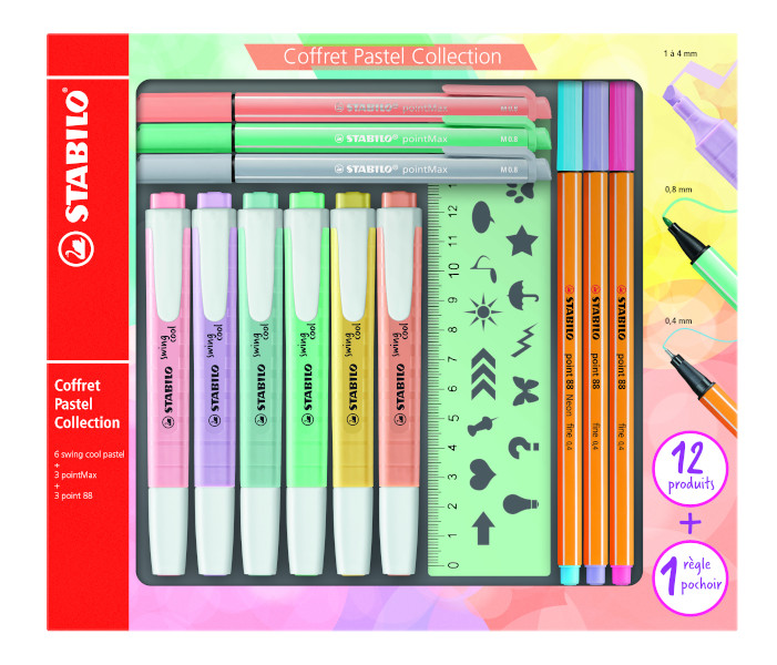 STABILO PASTEL COLLECTION SET IT/87-2915