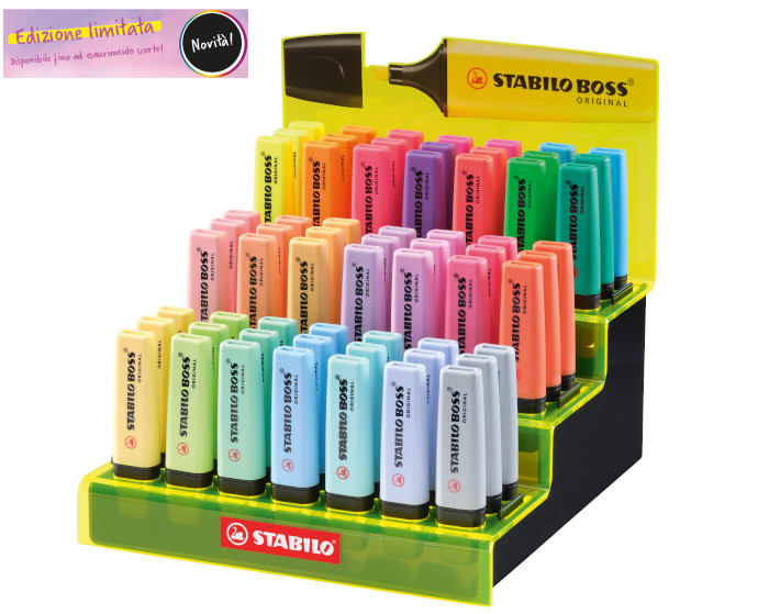 EVID.STABILO BOSS 70 -250pz IT70/250-1 (boss+pastel) Limited edition