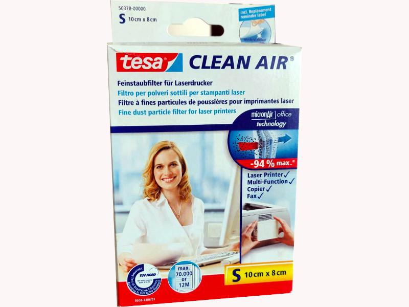 FILTRO CLEAN AIR 10X8 (S) TESA PER STAMP.LASER/COPIATRICI