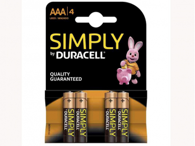 DURACELL MINISTILO SIMPLY AAA -4pz