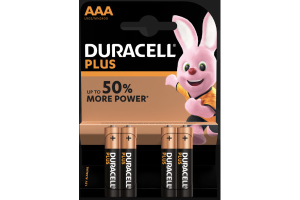 DURACELL MINISTILO PLUS POWER AAA -4pz MN2400/LR03