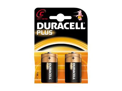DURACELL 1/2 TORCIA C PLUS P.-2pz MN1400