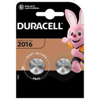 DURACELL LITIO 3V DL2016 -BL.2PZ