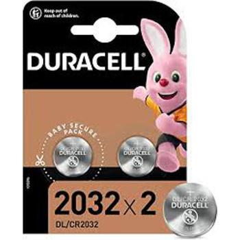 DURACELL LITIO 3V DL2032 -BLISTER 2PZ