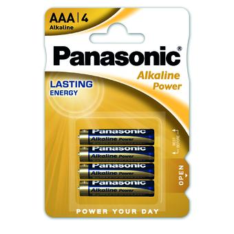 PANASONIC PILE MINISTILO ALKALINA AAA -4pz LR03