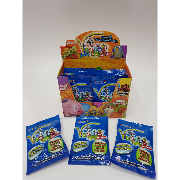 EDI KIDS VISCIDOSI JELLY ANIMALS -8PZ 990470001