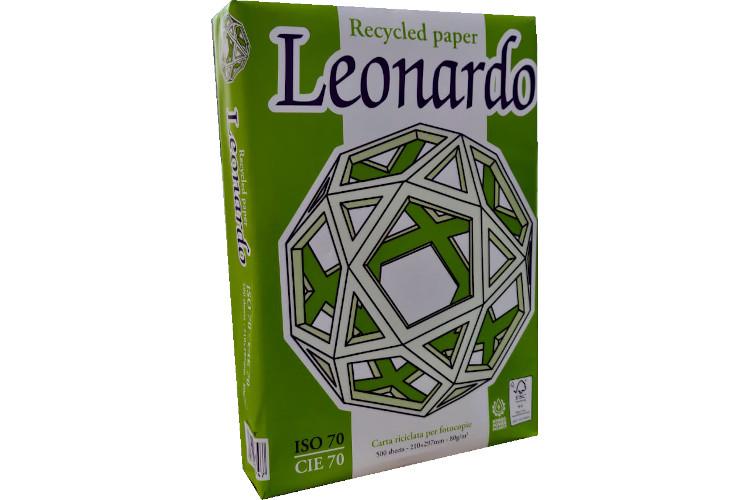 LEONARDO A4 GR.80 RICICLATA 65500541