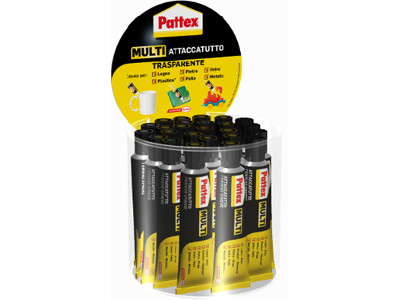ATTACCATUTTO PATTEX 20ML. -25pz 1604262