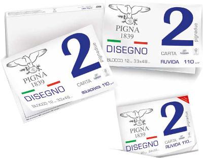 BLOCCO DISEGNO 33X48 12FG L/SQUADR. PIGNA-2