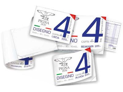 BLOCCO DISEGNO 24x33 20FG L/SQUADR. PIGNA-4