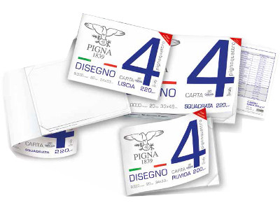 BLOCCO DISEGNO 33x48 20FG L/SQU. PIGNA-4