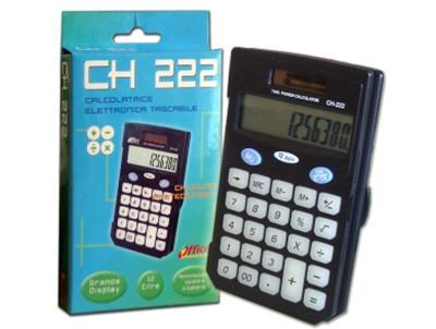 CALCOLATRICE 12C. TASCAB. CH-222 OP9.8