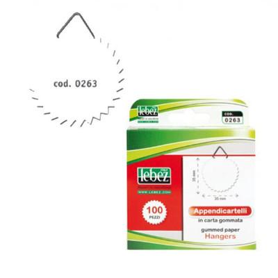APPENDICARTELLI LEBEZ 0263 CARTA -100pz