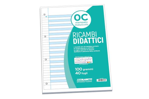 RICAMBI DIDATTICI A4