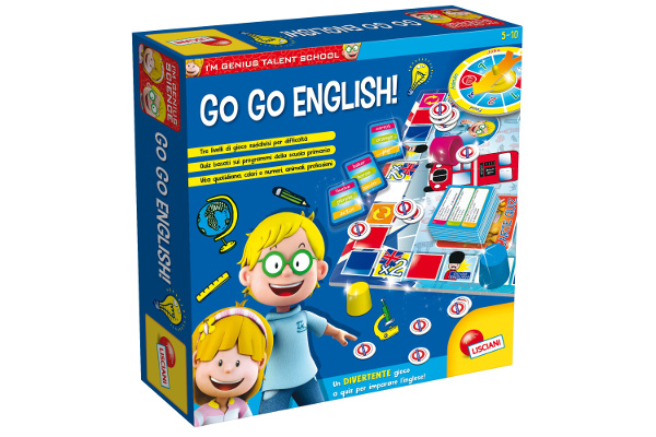LISCIANI I'M A GENIUS TS GO-GO ENGLISH 48892