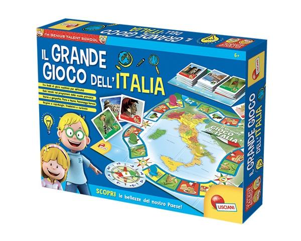 LISCIANI I'M A GENIUS TS IL GRANDE GIOCO DELL'ITALIA 56453*