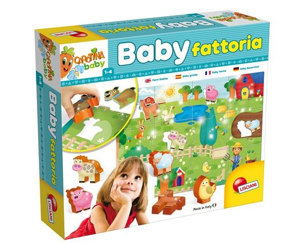 LISCIANI CAROTINA BABY FATTORIA 58464*