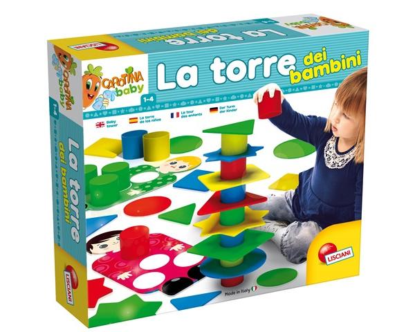 LISCIANI CAROTINA BABY LA TORRE DEI BAMBINI 58549*