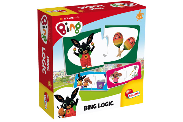 LISCIANI BING GAMES - BING LOGIC 74679