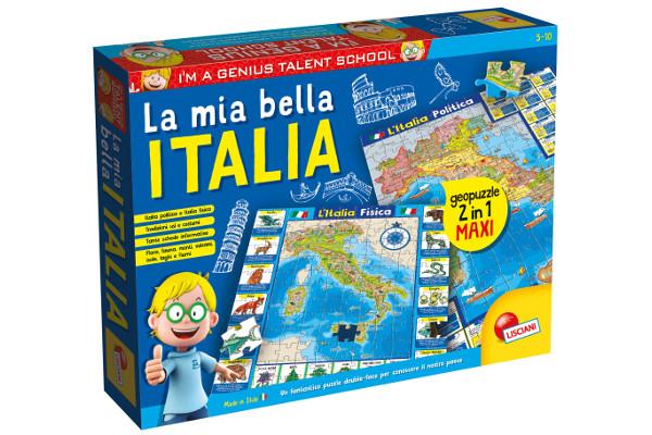LISCIANI I'M A GENIUS GEOPUZZLE LA MIA BELLA ITALIA 50X70 80571