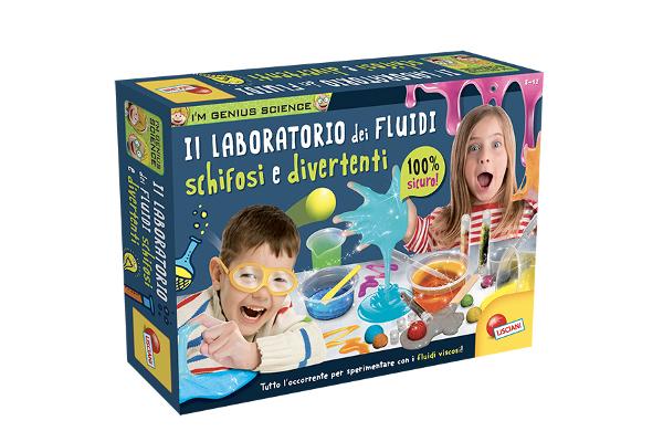 LISCIANI I'M A GENIUS LABORATORIO FLUIDI SCHIFOSI E DIVERTENTI 83916