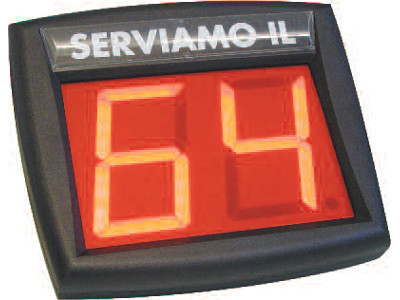 DISPLAY NUMERICO PER ELIMINA CODE VX1 24/032
