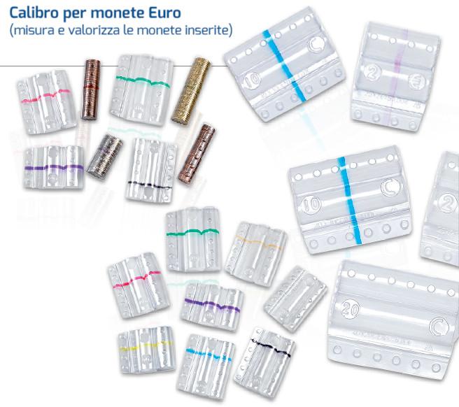 BLISTER PER MONETE 50 CENT. TRASP. -100PZ 8005TRBC
