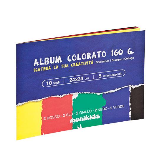 ALBUM COLORATO 24X34 5 COLORI 41/063