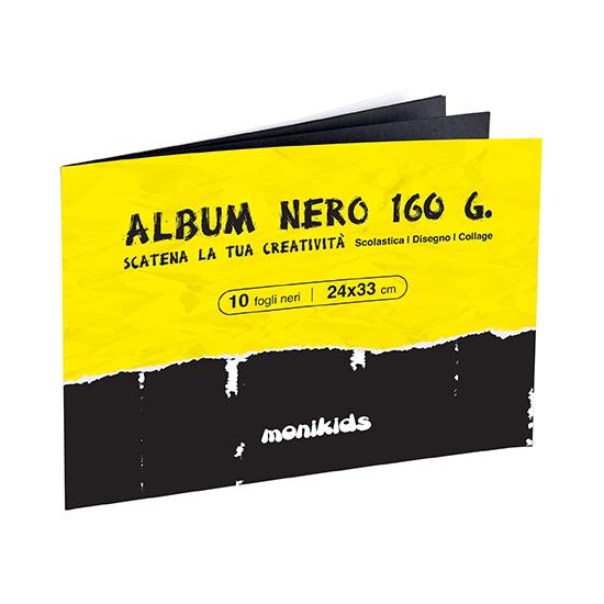 ALBUM NERO 24X33 10FG. 41/064