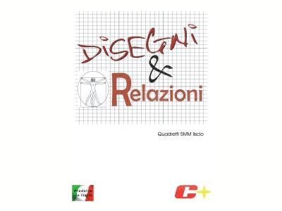 ALBUM DISEGNI & RELAZIONI 5MM LISCIO C+