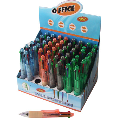 BIRO 4 COLOURS MINI (48) 817