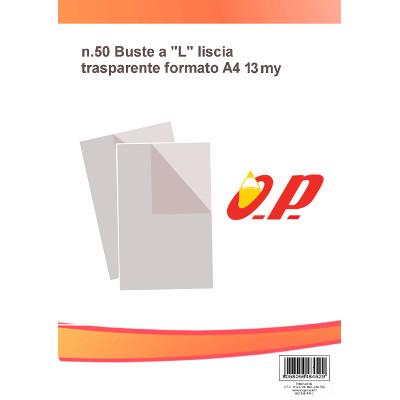 BUSTA A -L- 22X30 13/100 -50pz LISCIA