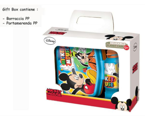 BORRACCIA+PORTAMERENDA PP MICKEY GIFT BOX ST50173