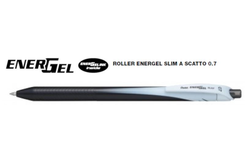 ROLLER ENERGEL 07 NERO BL437 -12pz SCATTO